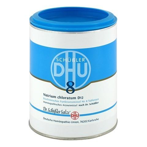 BIOCHEMIE DHU 8 Natrium chloratum D 12 Tabletten 1000 Stück