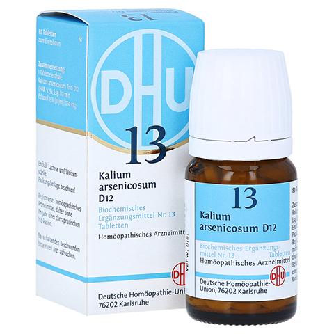 BIOCHEMIE DHU 13 Kalium arsenicosum D 12 Tabletten 80 Stück N1