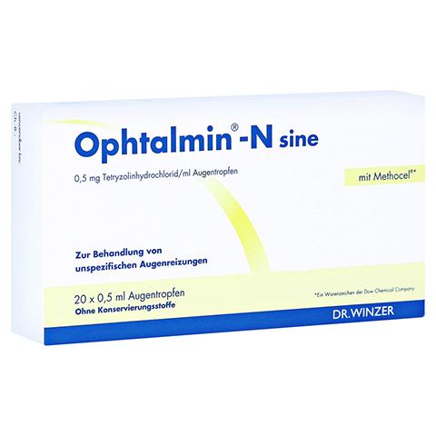 Ophtalmin-N sine Augentropfen 20x0.5 Milliliter N2