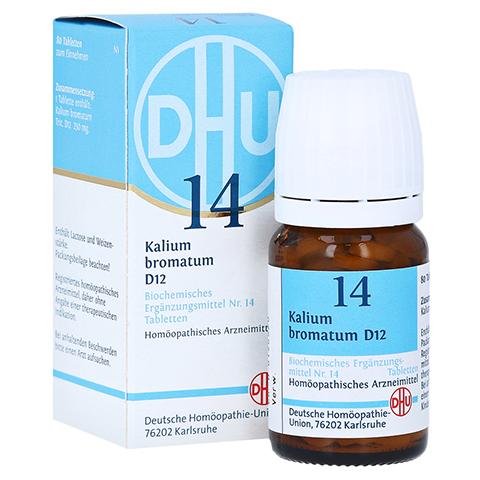 BIOCHEMIE DHU 14 Kalium bromatum D 12 Tabletten 80 Stück N1