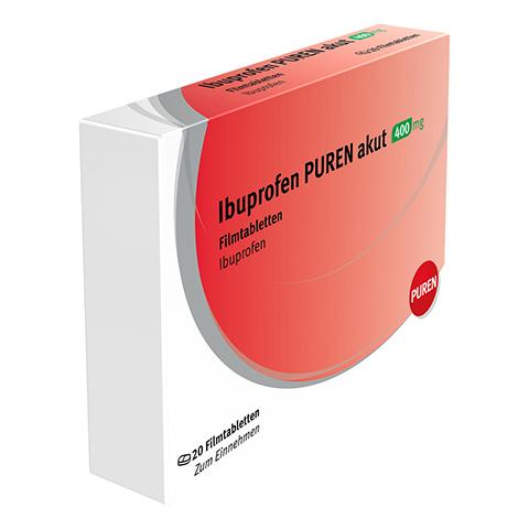Ibuprofen-Actavis 400mg 20 Stück