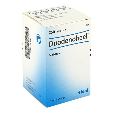 DUODENOHEEL Tabletten 250 Stück N2
