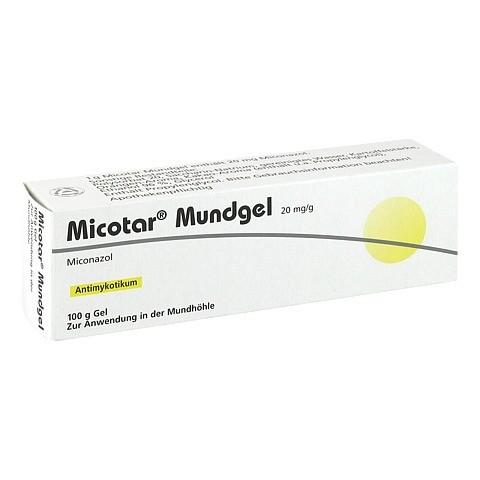 Micotar Mundgel 100 Gramm