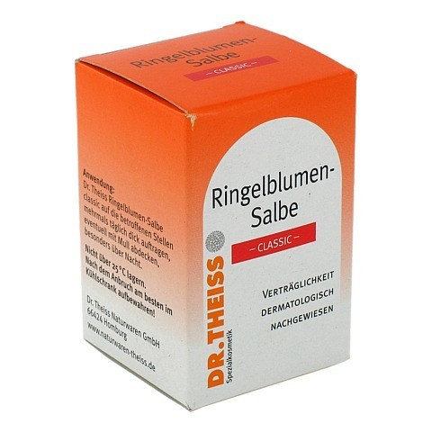 DR.THEISS Ringelblumen Salbe Classic 50 Milliliter