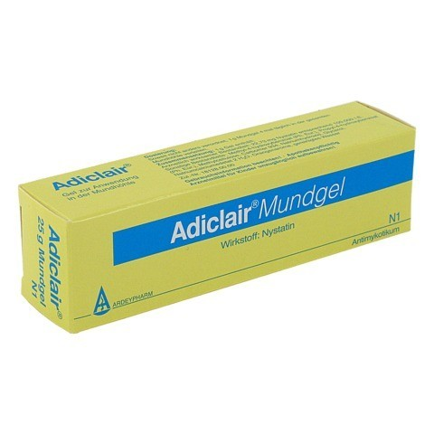 Adiclair Nystatin Mundgel 25 Gramm N1
