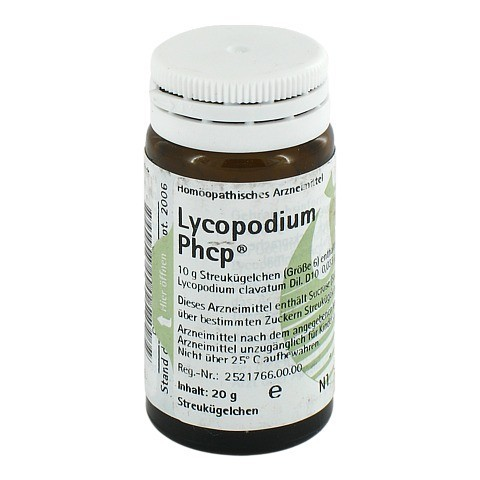 LYCOPODIUM PHCP Globuli 20 Gramm N1