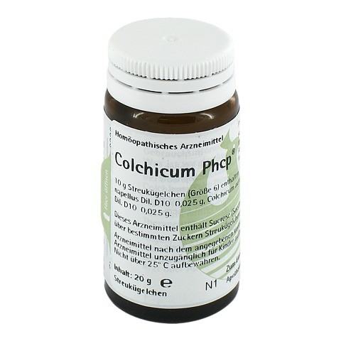 COLCHICUM PHCP Globuli 20 Gramm N1