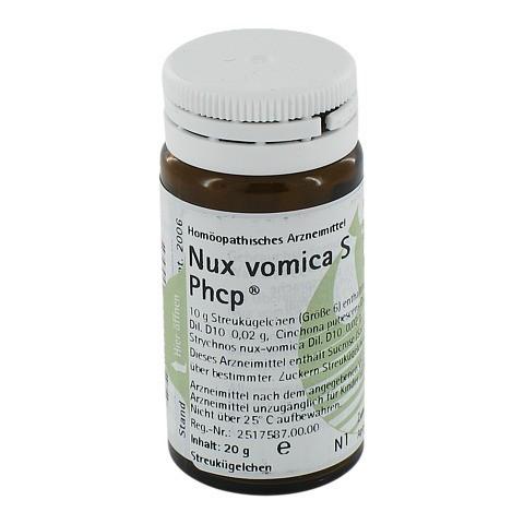NUX VOMICA S Phcp Globuli 20 Gramm N1