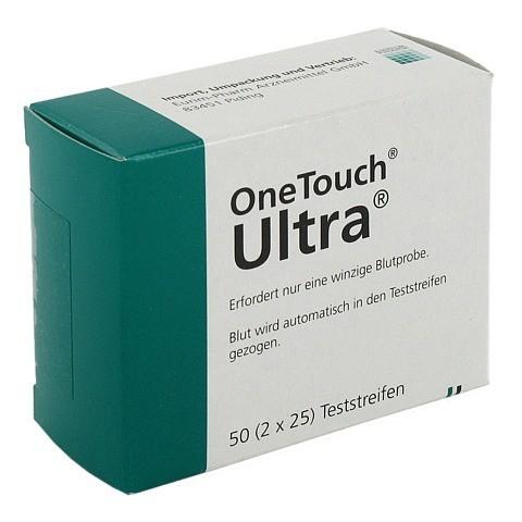 ONE TOUCH Ultra Sensor Teststreifen 50 Stück