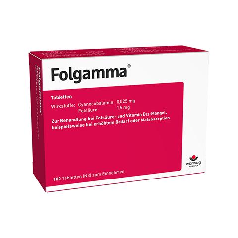 FOLGAMMA Tabletten 100 Stück N3