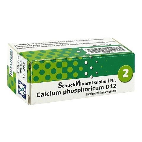 SCHUCKMINERAL Globuli 2 Calcium phosphoricum D 12 7.5 Gramm