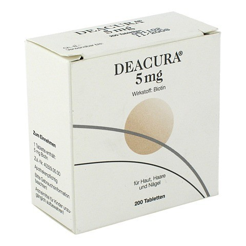 DEACURA 5 mg Tabletten 200 Stück