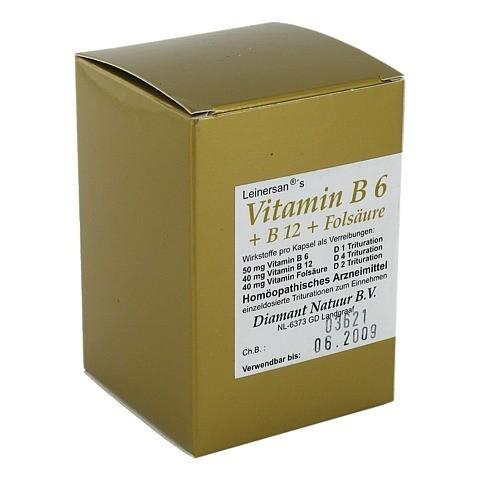 VITAMIN B6+B12+Folsäure Kapseln 60 Stück N1