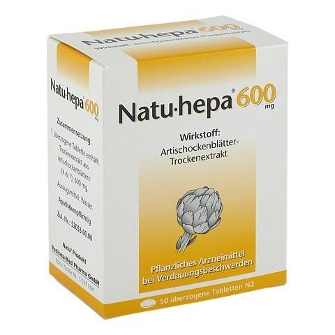 Natu-hepa 600mg 50 Stück