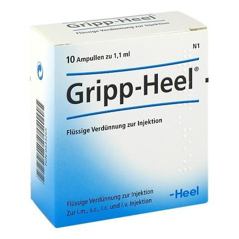 GRIPP-HEEL Ampullen 10 Stück N1