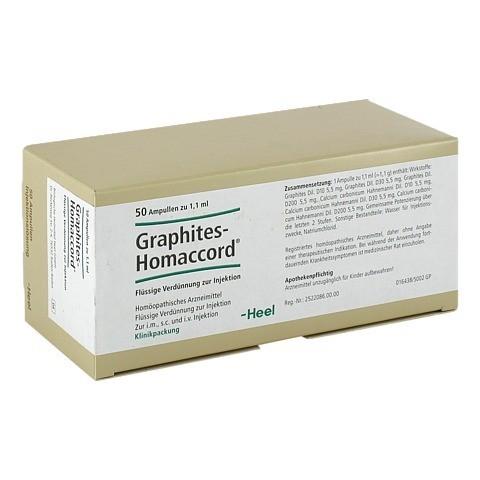GRAPHITES HOMACCORD Ampullen 50 Stück N2
