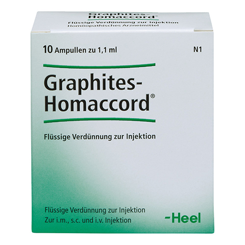 GRAPHITES HOMACCORD Ampullen 10 Stück N1