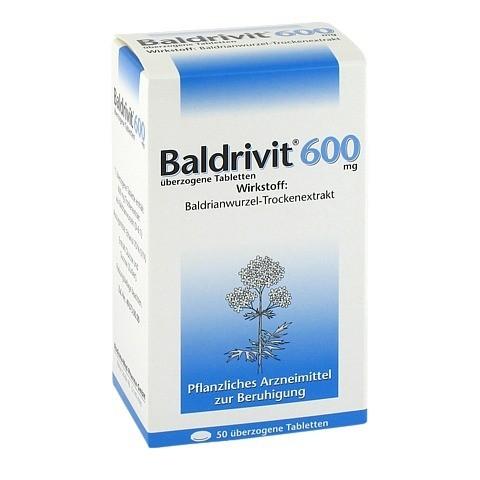 Baldrivit 600mg 50 Stück