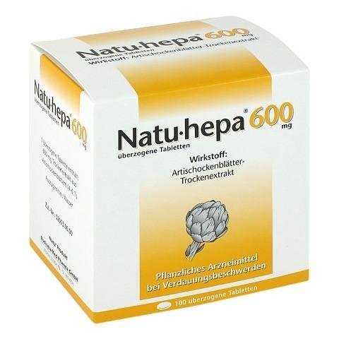 Natu-hepa 600mg 100 Stück