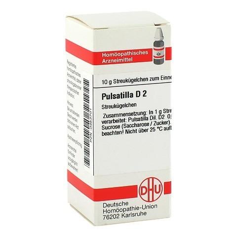 PULSATILLA D 2 Globuli 10 Gramm N1