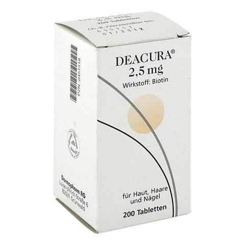 DEACURA 2,5 mg Tabletten 200 Stück