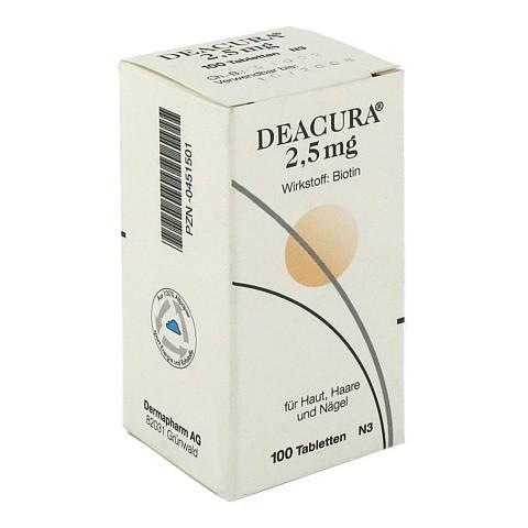 DEACURA 2,5 mg Tabletten 100 Stück N3