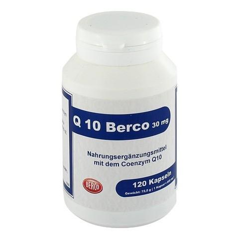 Q10 BERCO 30 mg Kapseln 120 Stück