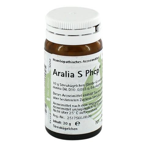 ARALIA S Phcp Globuli 20 Gramm N1