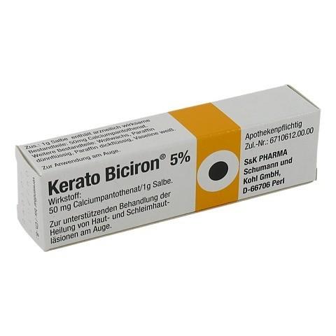 KERATO BICIRON 5% Augensalbe 2.5 Gramm N1