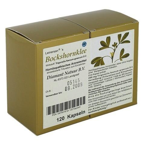 BOCKSHORNKLEE Kapseln 120 Stück N1