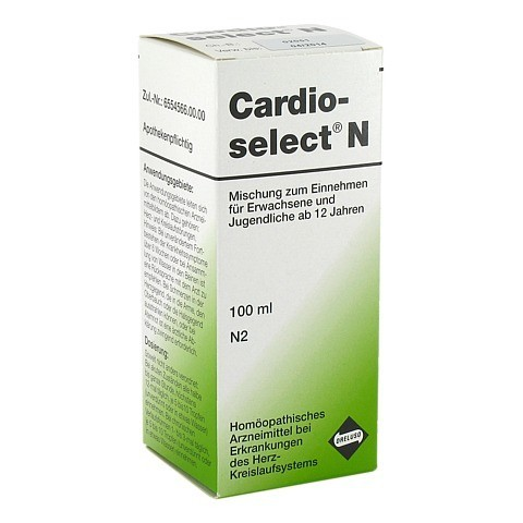 CARDIOSELECT N Tropfen 100 Milliliter N2
