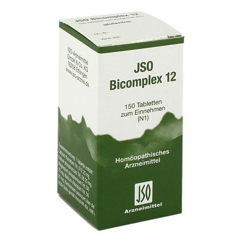 JSO-Bicomplex Heilmittel Nr.12 150 Stück N1