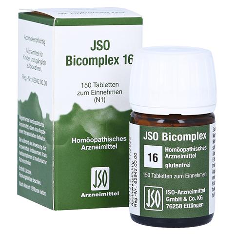 JSO-Bicomplex Heilmittel Nr.16 150 Stück N1