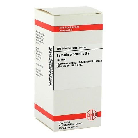 FUMARIA OFFICINALIS D 2 Tabletten 200 Stück N2