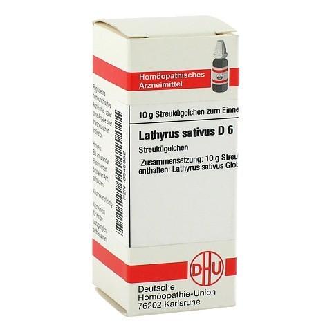 LATHYRUS SATIVUS D 6 Globuli 10 Gramm N1