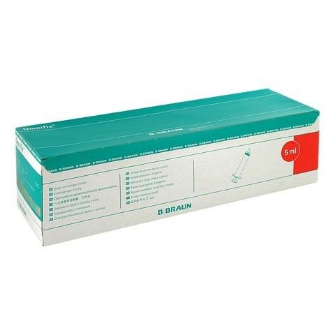 OMNIFIX Solo Spr.5 ml Luer latexfrei 100x5 Milliliter