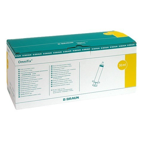 OMNIFIX Solo Spr.30 ml Luer Lock latexfrei 100x30 Milliliter