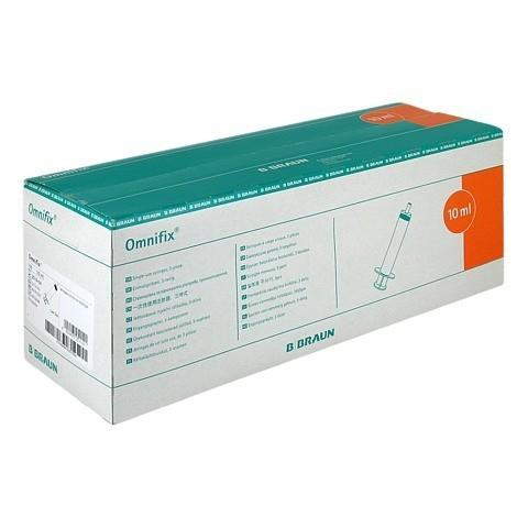 OMNIFIX Solo Spr.10 ml Luer latexfrei 100x10 Milliliter