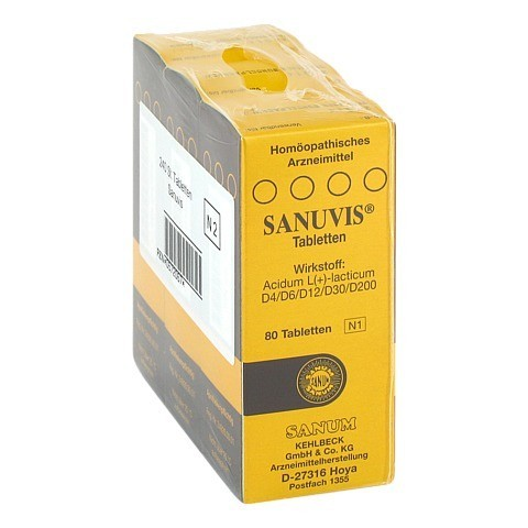 SANUVIS Tabletten 3x80 Stück N2