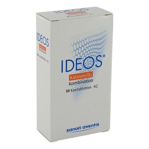 Ideos 500mg/400 I.E. 30 Stück
