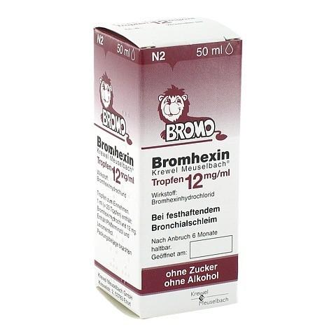 Bromhexin Krewel Meuselbach 12mg/ml 50 Milliliter N2