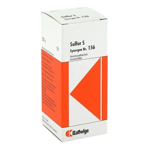 SYNERGON KOMPLEX 156 Sulfur S Tropfen 50 Milliliter N1