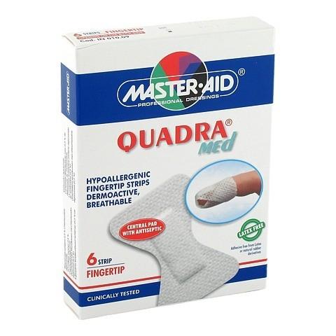 QUADRA MED Pflaster Fingerstrips Master Aid 6 Stück