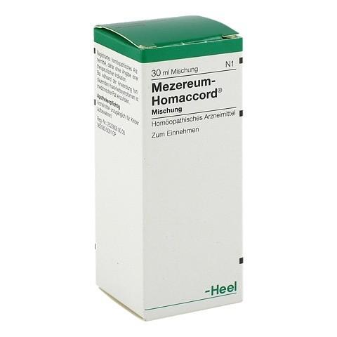 MEZEREUM HOMACCORD Tropfen 30 Milliliter N1