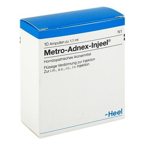 METRO Adnex Injeel Ampullen 10 Stück N1