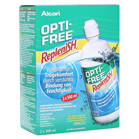 OPTI-FREE RepleniSH Multifunktions-Desinf.Lsg. 2x300 Milliliter