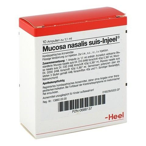 MUCOSA nasalis suis Injeel Ampullen 10 Stück