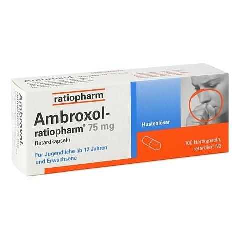 Ambroxol-ratiopharm 75mg Hustenlöser 100 Stück N3