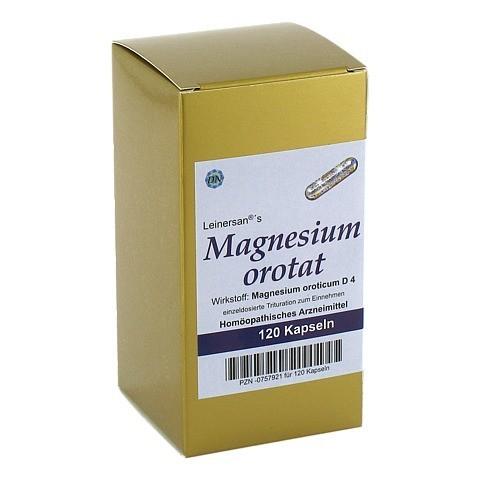 MAGNESIUMOROTAT KAPSELN 120 Stück N1