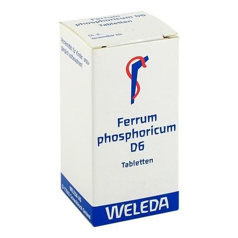 FERRUM PHOSPHORICUM D 6 Tabletten 80 Stück N1